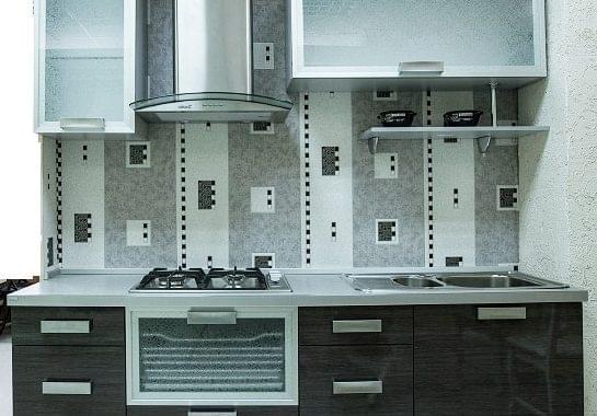 Кухня  HPL (пластик)