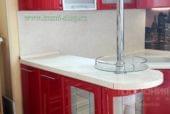 Кухня «Гамма», красный глянец - изображение 4