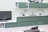 Кухня «Интегра» зеленая пастель - изображение 3